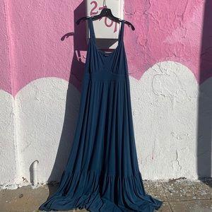 TORRID BLUE MAXI DRESS